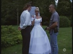 Bride, Stockings, Wedding, Outdoor, Wedding fuck, Xhamster.com