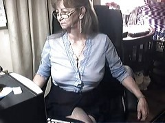 Granny, Glasses, Ass, Black with glasses, Xhamster.com