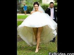Upskirt, Bride, Wedding, Wedding wide, Gotporn.com
