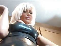 Smoking, Leather, Leather dress, Xhamster.com