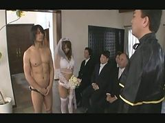 Asian, Gangbang, Japanese, Bride, Bride father, Xhamster.com