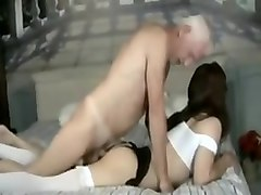 Blonde, Crossdresser, Old Man, Dress, Two mistress and a crossdresser, Xhamster.com
