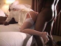 Bride, Cuckold, Wedding, Bride unwanted creampie, Xhamster.com