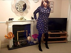 Boots, Crossdresser, Dress, Crossdressing mature, Xhamster.com