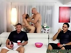 Blonde, Riding, Uncle, Daddy and uncle fucks me in the pool, Pornhub.com