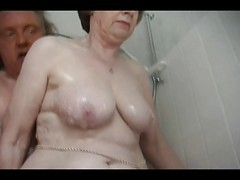 Granny, Bath, Mom and daughter in bath, Xhamster.com