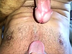Cum in own mouth bath, Nuvid.com