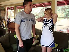 Blowjob, Flexible, Cheerleader, Flexible anal pounding, Gotporn.com