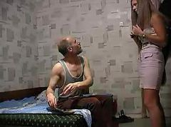 Old Man, Tight, Enter old man and young girl, Gotporn.com