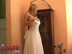 Bride, Russian, Wedding, Bride cheat, Gotporn.com