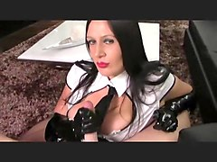 Gloves, Secretary, Glove leather, Hclips.com