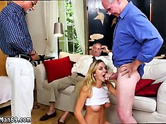Black, Creampie, Old Man, Threesome, Madison scott old man, Gotporn.com