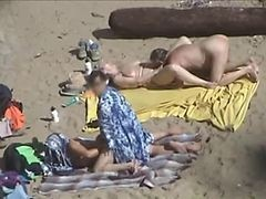 Couple, Beach, Real couple sex tape money, Xhamster.com