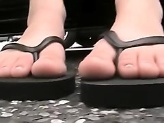 Feet, Fetish, Nylon feet threesome, Nuvid.com