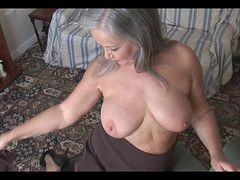 Bus, Granny, Strip, Stripping in front of cam, Xhamster.com