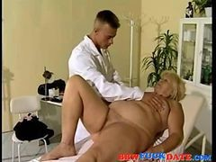 Granny, Chubby, Doctor, Busty hot doctor and nurse examine their, Gotporn.com