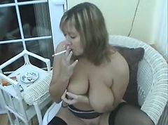 Smoking, Milf, Smoking face blowing, Xhamster.com