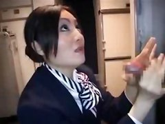Stewardess, Japanese flight attendant air stewardess, Gotporn.com