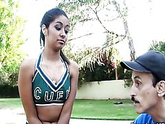 Cheerleader, Cheerleader threesome, Redtube.com